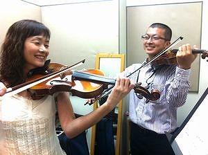 川崎バイオリン教室 レッスン風景