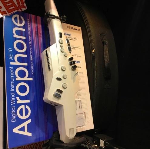 ローランド エアロフォン AE-10展示中!