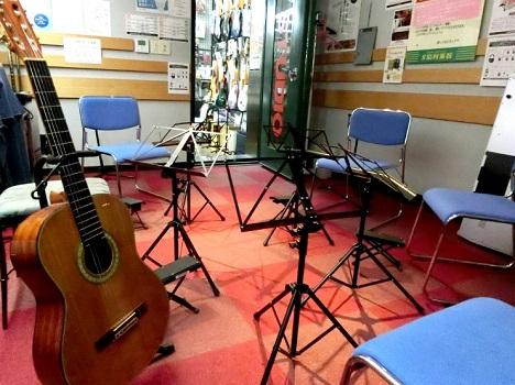 ギターグループレッスン室