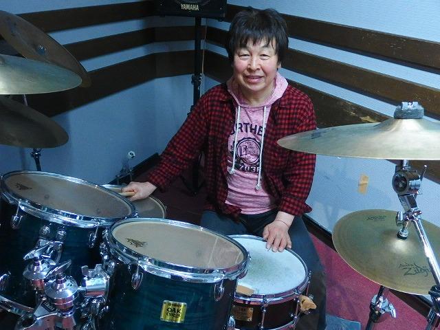 島村楽器松本パルコ店 ドラム教室講師 竹内正二