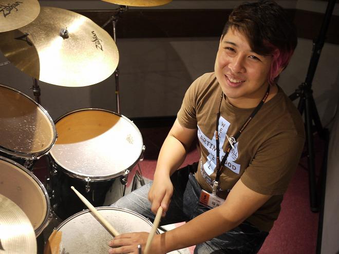 島村楽器音楽教室ドラム講師