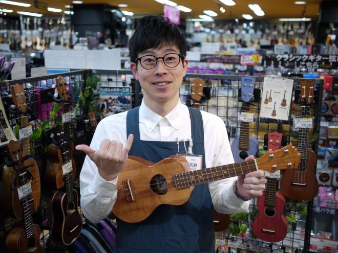 島村楽器 ウクレレ 西野 松本店