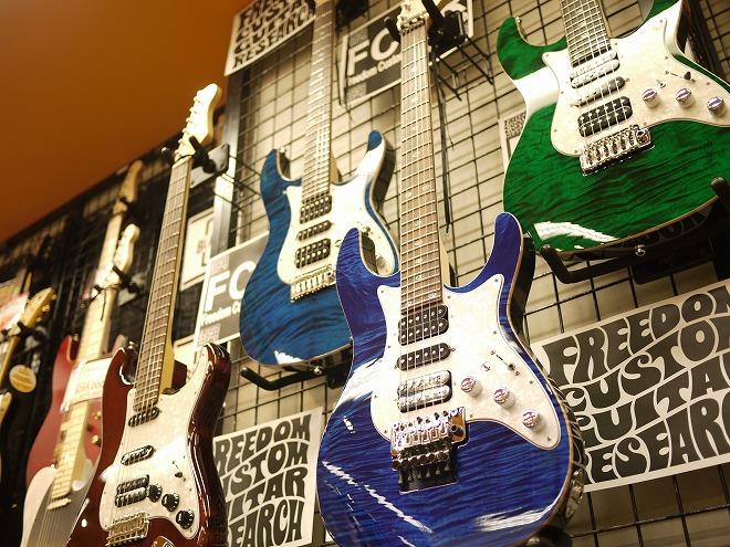 Freedom Custom Guitar Research HYDRA