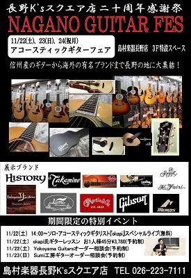 アコースティックギターフェア