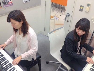 2台ピアノレッスン