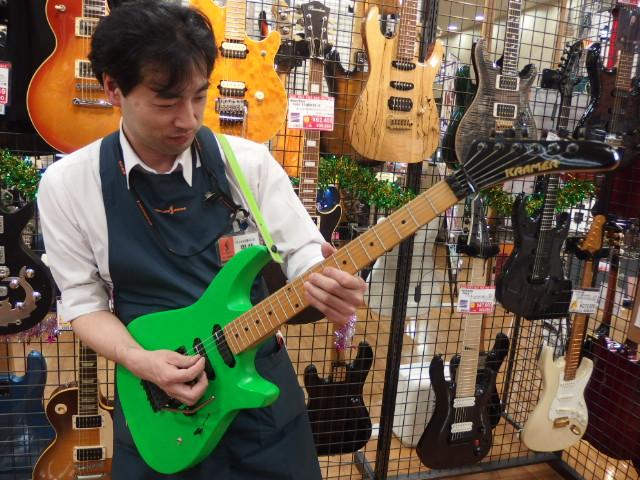 ギター全般担当甲斐
