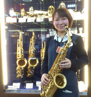 管楽器担当榊山(さかきやま)島村楽器イオンモール岡崎店