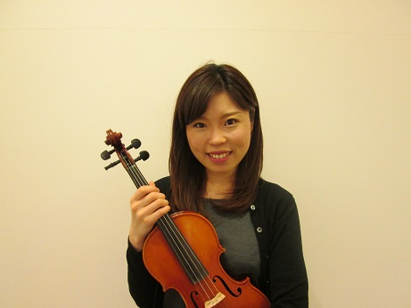 島村楽器岡崎店バイオリン講師増田留璃香先生