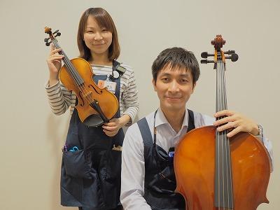 (左:榊山 右:浅井店長)