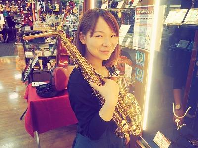 管楽器担当 榊山