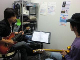 坂井先生レッスン風景