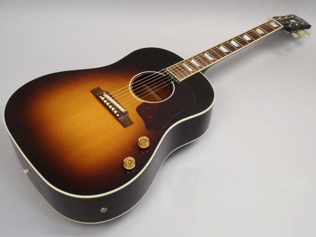 Gibson 1960's J-160E Vintage Sunburstトップ画像