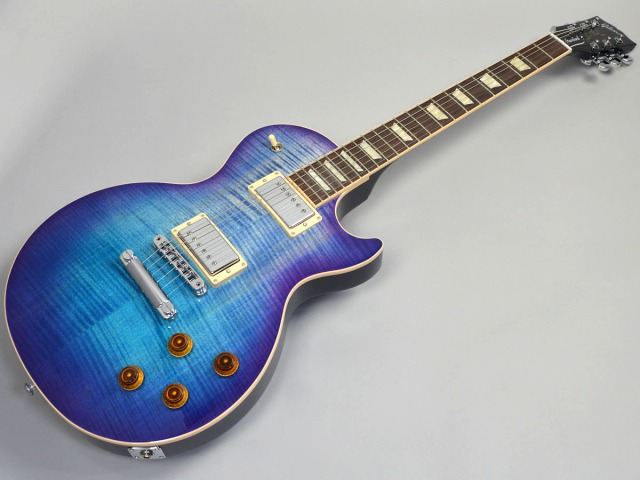 Gibson Les Paul Standard 2017 T Blueberry Burstトップ画像