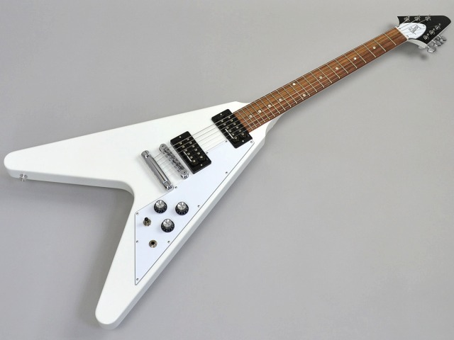 Gibson Flying V 2017 T Alpine Whiteトップ画像