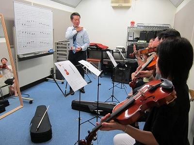 バイオリン体験会1