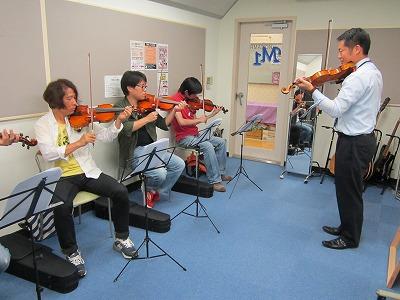 バイオリン体験会2