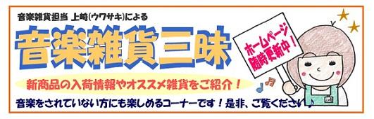 大日店音楽雑貨HP TOP