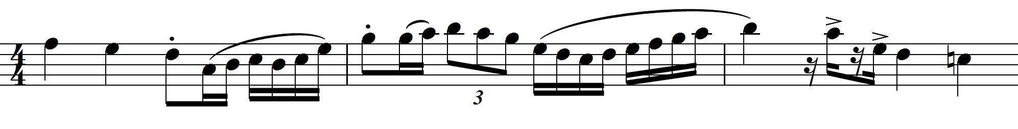 複雑な動きの練習