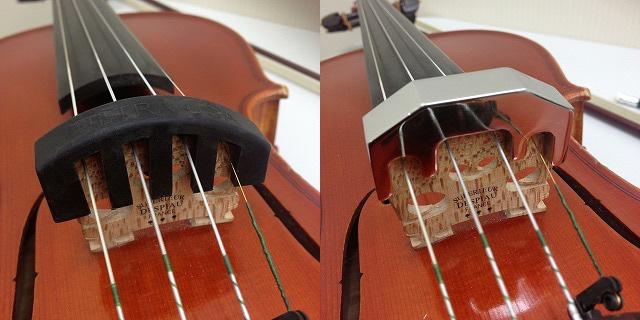 バイオリンミュート写真