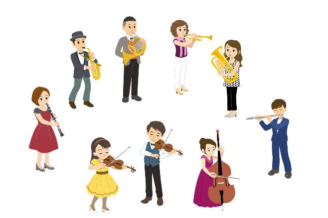 吹奏楽、オーケストライメージ