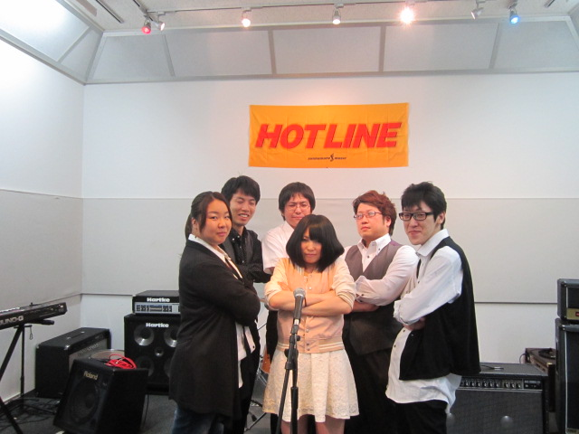 HOTLINE2012 島村楽器名取店エントリー「color Age band」