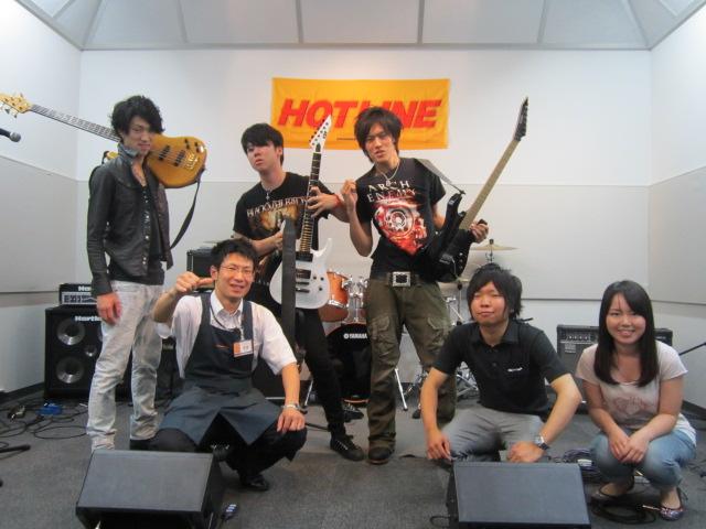 HOTLINE2012 島村楽器名取店 8月12日