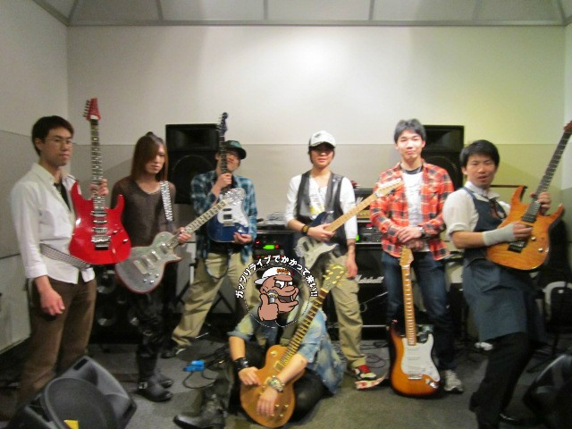 島村楽器名取店「G.I.fes」6/1 出演者の皆さま