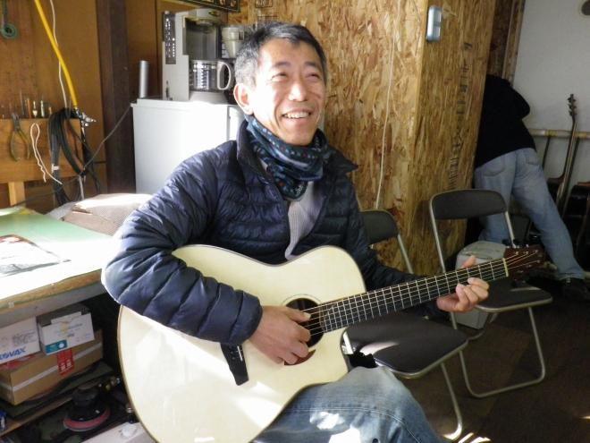 Y様とYokoyama guitar