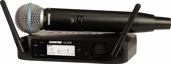 SHURE / GLXD24J B58-Z2
