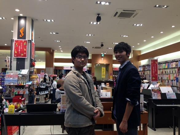 左:合田甫良 右:藤井大輝