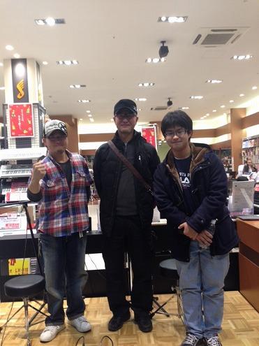 左:岡野光朝 右:合田稔&甫良