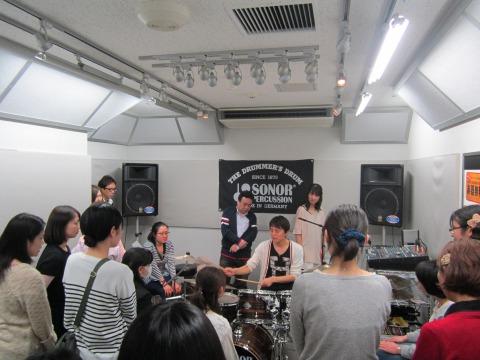 SONOR Presents ドラムクリニック&トークライブ
