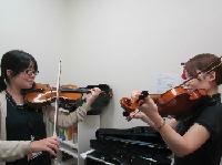 ヴァイオリンサロンレッスン風景