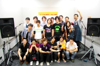 HOTLINE2011店ライブオーディションVo.7集合写真