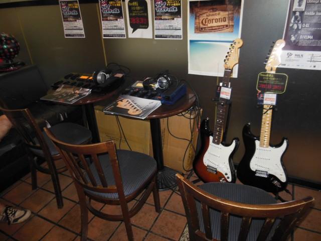 ROLAND協賛Vギター&ギターシンセコーナー