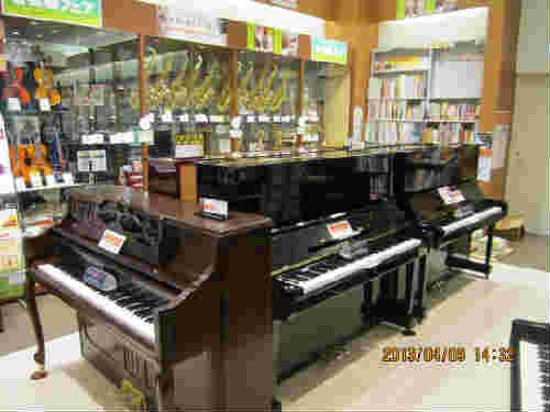 ピアノコーナー表