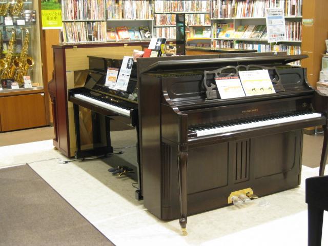 綾川店アコースティックピアノコーナー