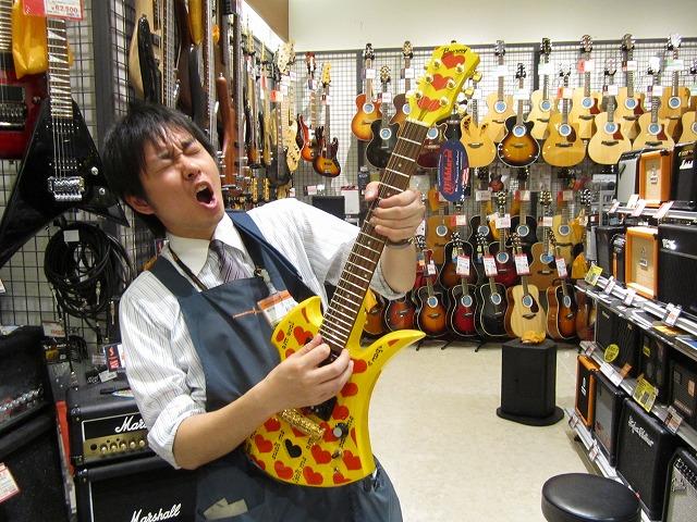 ミニギターでRockするべし!!