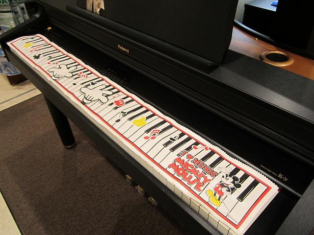 店頭の電子ピアノで使用してみました!
