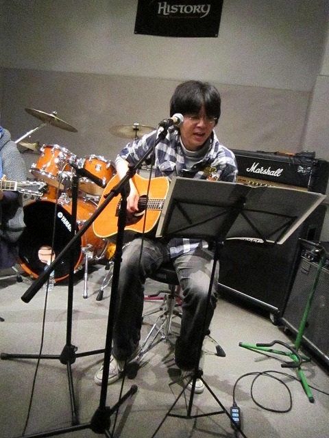 ギター、ええ音してました!!