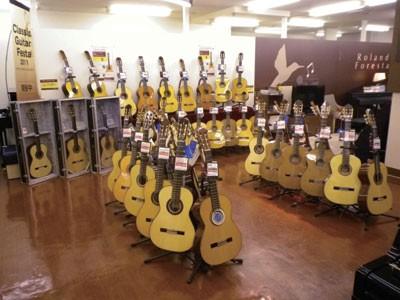 去年開催されたクラシックギターフェスタの模様