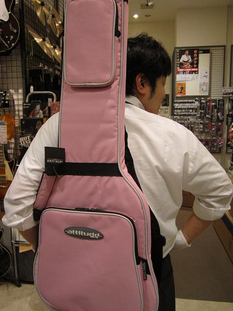 ピンクのケース!