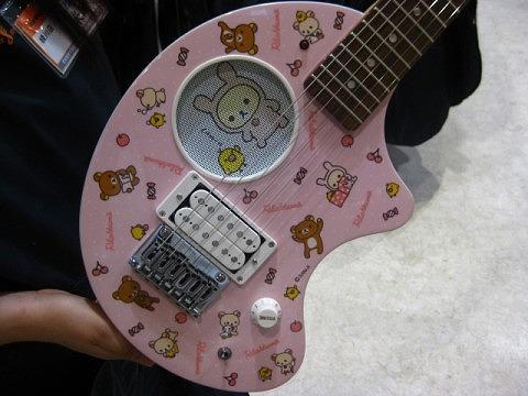 リラックマギターです!
