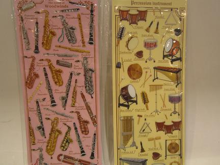 木管楽器と打楽器