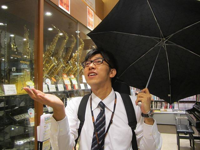 あ、雨・・・