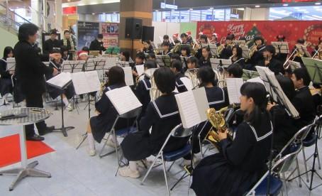 宇多津中学校 クリスマスコンサート 本番
