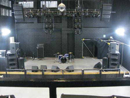 ステージ全体