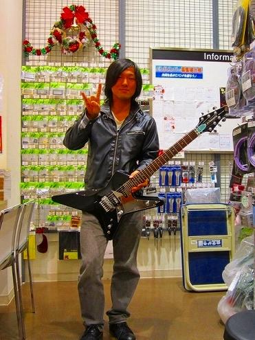 森下様とNEWギター