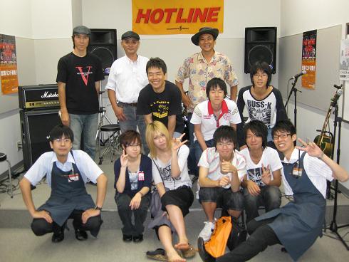 HOTLINE店ライブオーディションVol.3集合写真