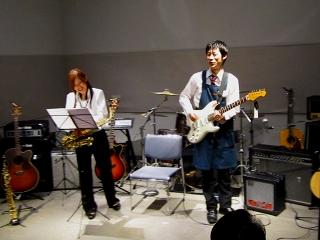 島村楽器 橿原店 大人の ライブ フェスティバル SAX サックス エレキギター